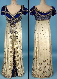 Georgian style dresses sale