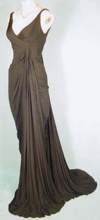 Silk Jersey Gown