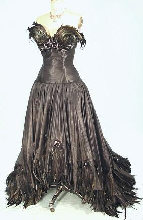 Antique Dress - Item for Sale :  evening gown vintage dress antique dress